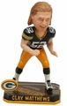 Clay Matthews (Green Bay Packers) Forever Collectibles 2014 NFL Springy Logo Base Bobblehead