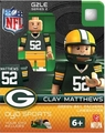 Clay Matthews (Green Bay Packers) NFL OYO G2 Sportstoys Minifigures