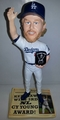 Clayton Kershaw (Los Angeles Dodgers) 3X National League Cy Young Award Winner Bobblehead #/1000 Forever Collectibles