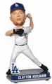 Clayton Kershaw (Los Angeles Dodgers) Forever Collectibles 2014 MLB Springy Logo Base Bobblehead