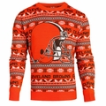 Cleveland Browns 2016 Aztec NFL Ugly Crew Neck Sweater by Forever Collectibles