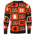 Cleveland Browns 2016 Patches NFL Ugly Crew Neck Sweater by Forever Collectibles