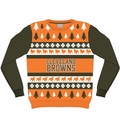 Cleveland Browns NFL Ugly Sweater Wordmark