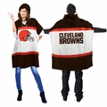 Cleveland Browns Sweatshirt-style NFL Hoodie Poncho