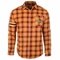 Cleveland Cavaliers NBA Wordmark Flannel Long Sleeve Shirt