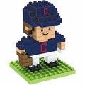 "Cleveland Indians MLB 3D 2"" Player BRXLZ Puzzle By Forever Collectibles"
