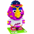 Cleveland Indians MLB 3D Mascot BRXLZ Puzzle By Forever Collectibles