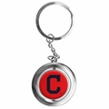 Cleveland Indians MLB Spinner Keychain