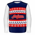 Cleveland Indians MLB Ugly Sweater Wordmark