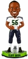 Cliff Avril (Seattle Seahawks) Super Bowl XLVIII Champ NFL Bobble Head Forever