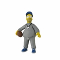 "Coach Homer Simpson (The Simpsons 25th Anniversary) 5"" Action Figure Series 1 NECA"