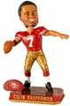 Colin Kaerpernick (San Francisco 49ers) Forever Collectibles 2014 NFL Springy Logo Base Bobblehead