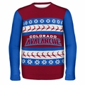 Colorado Avalanche NHL Ugly Sweater BusyBlock