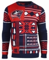 Columbus Blue Jackets NHL Patches Ugly Sweater by Klew