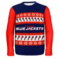 Columbus Blue Jackets NHL Ugly Sweater Wordmark