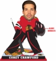 Corey Crawford (Chicago Blackhawks) 2016 NHL Goalie Bobblehead Forever Collectibles