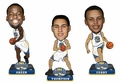 Curry/Thompson/Green (Golden State Warriors) 2015 NBA Champions Mini Big Head Bobble Head 3-Pack