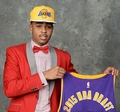 D'Angelo Russell (Los Angeles Lakers) 2015 NBA Draft Day Bobble Head