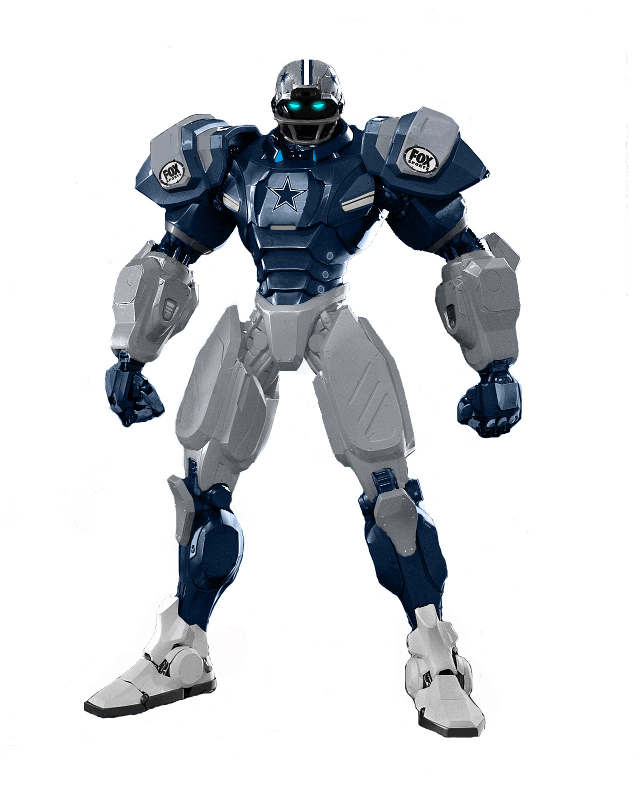 Dallas Cowboy Robot Dallas Cowboys 10 Team