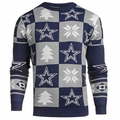Dallas Cowboys 2016 Patches NFL Ugly Crew Neck Sweater by Forever Collectibles