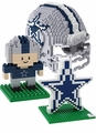Dallas Cowboys NFL 3D  BRXLZ Puzzle Set By Forever Collectibles