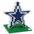Dallas Cowboys NFL 3D Logo BRXLZ Puzzle By Forever Collectibles