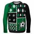 Dallas Stars NHL Ugly Sweater Busy Block
