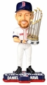 Daniel Nava (Boston Red Sox) 2013 World Series Champ Trophy Bobble Head Forever