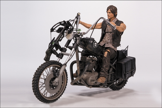 Daryl Dixon with Chopper (The Walking Dead TV Series) Deluxe Box Set McFarlane