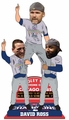 David Ross/Anothony Rizzo/Jason Heyward (Chicago Cubs) 2016 World Series Champions Celebration Bobblehead