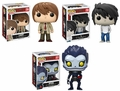 Death Note Complete Set (3) Funko Pop!