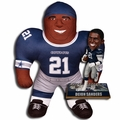 "Deion Sanders (Dallas Cowboys) NFL Legends Bobble Head and 24"" NFL Plush Studds by Forever Collectibles Combo"
