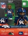 Demarcus Ware (Denver Broncos) NFL OYO G2 Sportstoys Minifigures