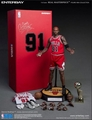 "Dennis Rodman (Chicago Bulls) 1/6th Scale 12"" Action Figure Enterbay"