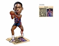 Dennis Rodman (Detroit Piston) Defensive Player of the Year Newspaper Base NBA Legends Bobble Head