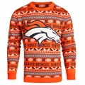Denver Broncos 2016 Aztec NFL Ugly Crew Neck Sweater by Forever Collectibles