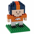 Denver Broncos NFL 3D Player BRXLZ Puzzle By Forever Collectibles