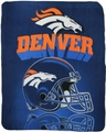 Denver Broncos NFL Fleece Throw Blanket