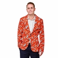 Denver Broncos NFL Ugly Business Sport Coat Repeat Logo by Forever Collectibles