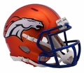 Denver Broncos Riddell Blaze Alternate Speed Mini Helmet
