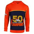 Denver Broncos Super Bowl 50 Champions Pullover Sweater Hoody