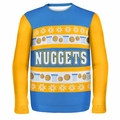 Denver Nuggets NBA Ugly Sweater Busy Block
