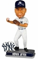 Derek Jeter (New York Yankees) Forever Collectibles 2014 MLB Springy Logo Base Bobblehead