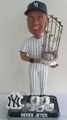Derek Jeter (New York Yankees) 5X Champ/Rings MLB Bobble Head Forever Collectibles