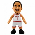 "Derrick Rose (Chicago Bulls) White Jersey 10"" NBA Player Plush Bleacher Creatures"