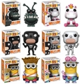 Despicable Me 3 Complete Set (6) w/ CHASE Funko Pop!