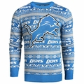 Detroit Lions 2016 Aztec NFL Ugly Crew Neck Sweater by Forever Collectibles