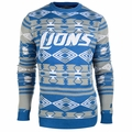 Detroit Lions Aztec NFL Ugly Crew Neck Sweater