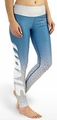 Detroit Lions (Gradient Print) NFL Leggings