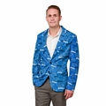 Detroit Lions NFL Ugly Business Sport Coat Repeat Logo by Forever Collectibles